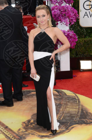 Hayden Panettiere - Beverly Hills - 12-01-2014 - Golden Globe 2014: gli arrivi sul red carpet