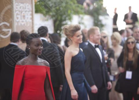 Lupita Nyong'o, Amber Heard - Beverly Hills - 12-01-2014 - Golden Globe 2014: le foto più belle