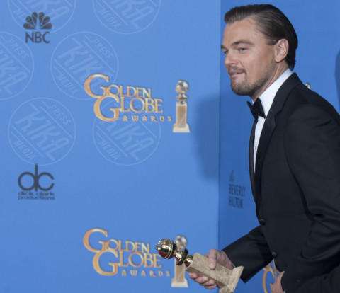 Leonardo DiCaprio - Beverly Hills - 12-01-2014 - Golden Globe 2014: le foto più belle