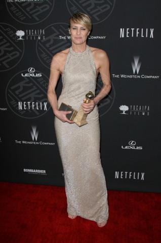 Robin Wright - Beverly Hills - 13-01-2014 - Vade retro abito! Le scelte ai Golden Globe 2014