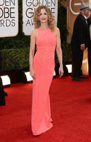 Kyra Sedgwick - Beverly Hills - 12-01-2014 - Golden Globe 2014: gli arrivi sul red carpet