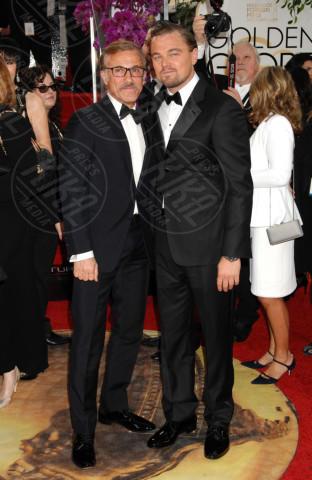 Christoph Waltz, Leonardo DiCaprio - Beverly Hills - 13-01-2014 - Golden Globe 2014: gli arrivi sul red carpet