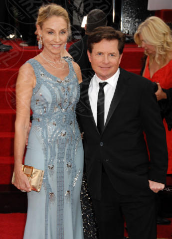 Tracy Pollan, Michael J.  Fox - Beverly Hills - 12-01-2014 - Golden Globe 2014: gli arrivi sul red carpet