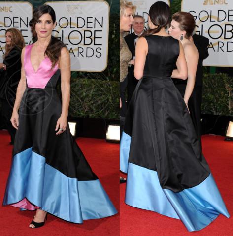 Sandra Bullock - Los Angeles - 13-01-2014 - Vade retro abito! Le scelte ai Golden Globe 2014