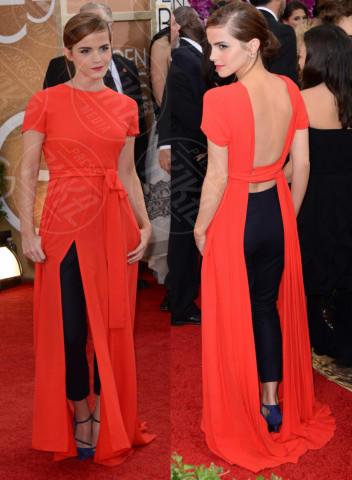 Emma Watson - Los Angeles - 13-01-2014 - Vade retro abito! Le scelte ai Golden Globe 2014