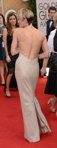 Robin Wright, Ben Foster - Beverly Hills - 12-01-2014 - Vade retro abito! Le scelte ai Golden Globe 2014