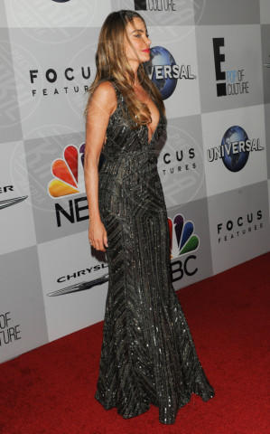 Sofia Vergara - Beverly Hills - 12-01-2014 - Golden Globe 2014: gli arrivi sul red carpet