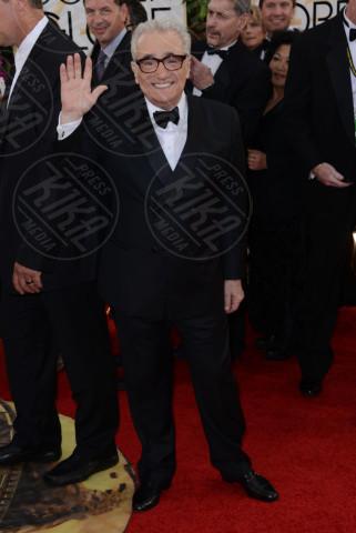 Martin Scorsese - 12-01-2014 - Golden Globe 2014: gli arrivi sul red carpet