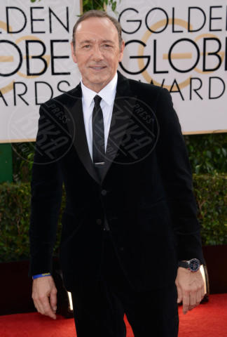 Kevin Spacey - Beverly Hills - 12-01-2014 - Golden Globe 2014: gli arrivi sul red carpet