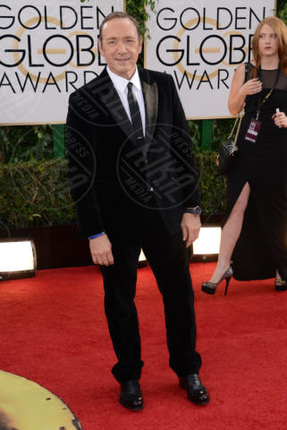 Kevin Spacey - Beverly Hills - 12-01-2014 - Golden Globe 2014: gli arrivi sul red carpet