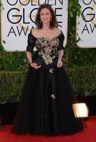 Jacqueline Bisset - 12-01-2014 - Golden Globe 2014: gli arrivi sul red carpet