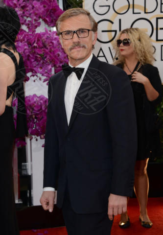 Christoph Waltz - Beverly Hills - 12-01-2014 - Golden Globe 2014: gli arrivi sul red carpet