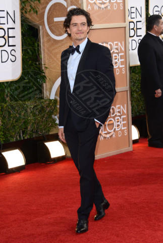 Orlando Bloom - Beverly Hills - 12-01-2014 - Golden Globe 2014: gli arrivi sul red carpet