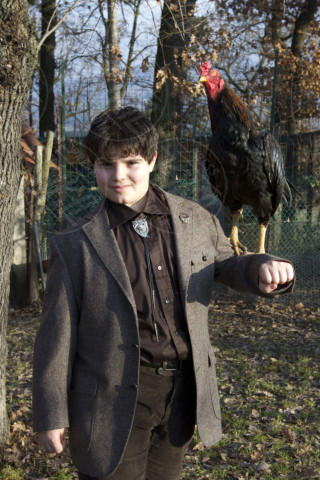 """Gregorio Tinteri Mercandelli - Godiasco - 13-01-2014 - """"Il mio migliore amico è un gallo da combattimento"""""""