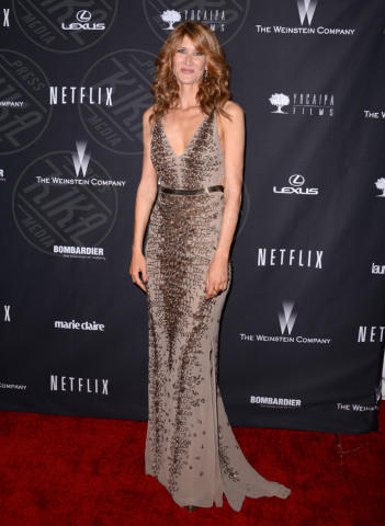 Laura Dern - Beverly Hills - 12-01-2014 - Laura Dern: la nomination è una sorpresa, lo stile no