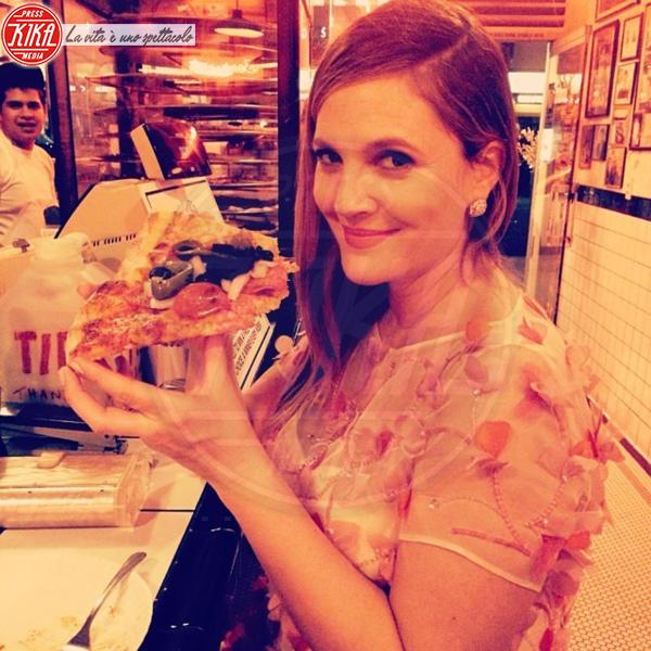 Drew Barrymore - Hollywood - 13-01-2014 - La pizza patrimonio dell'Unesco: ma le star lo sapevano già!