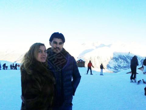 Marco Cuculo, Lory Del Santo - 09-01-2014 - Ufficiale: Lory Del Santo e Marco a Pechino Express
