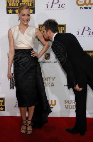 Leslie Bibb, Sam Rockwell - Santa Monica - 16-01-2014 - Le celebrity in coppia che non sapevi fossero... coppie!