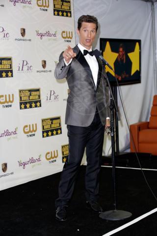Matthew McConaughey - Los Angeles - 16-01-2014 - Matthew McConaughey, a ogni evento il suo colore
