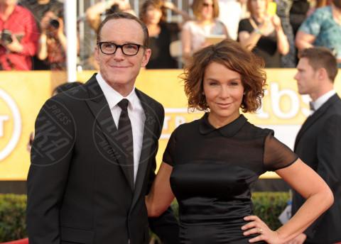 Clark Gregg, Jennifer Grey - Los Angeles - 17-01-2014 - Le celebrity in coppia che non sapevi fossero... coppie!