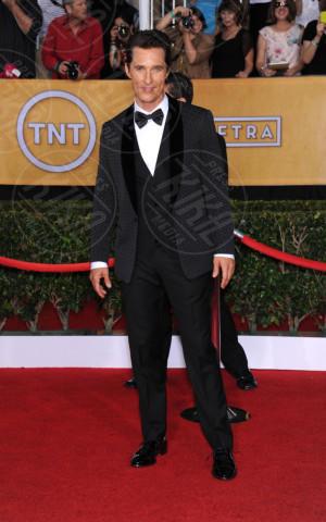 Matthew McConaughey - Los Angeles - 18-01-2014 - Matthew McConaughey, a ogni evento il suo colore