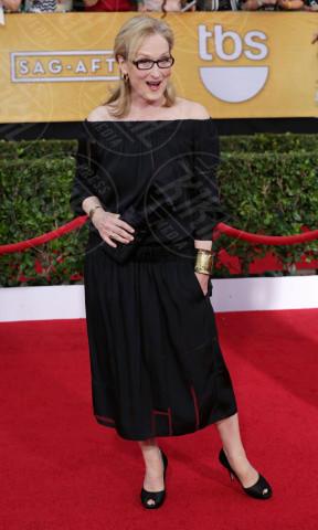 Meryl Streep - Los Angeles - 18-01-2014 - Meryl Streep, pronta per il tappeto rosso degli Oscar