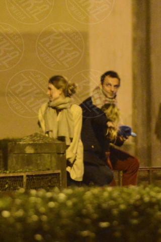 Greta Carandini, Elena Preziosi, Alessandro Preziosi - Roma - 18-01-2014 - Alessandro Preziosi, addio a Greta Carandini dopo 5 anni