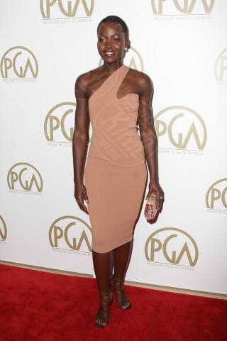 Lupita Nyong'o - Beverly Hills - 19-01-2014 - Sul red carpet come una dea: il ritorno del monospalla