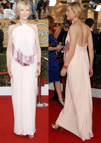Cate Blanchett - Los Angeles - 20-01-2014 - Vade retro abito! Le scelte delle star ai SAG Awards 2014