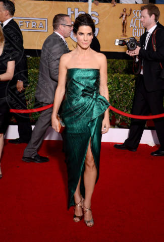 Sandra Bullock - Los Angeles - 18-01-2014 - Vade retro abito! Le scelte delle star ai SAG Awards 2014