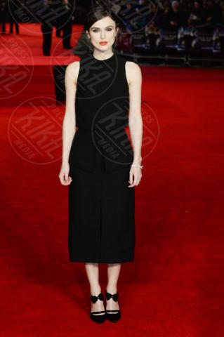 Keira Knightley - Londra - 20-01-2014 - Keira Knightley, raffinatezza e classe da Oscar sul red carpet