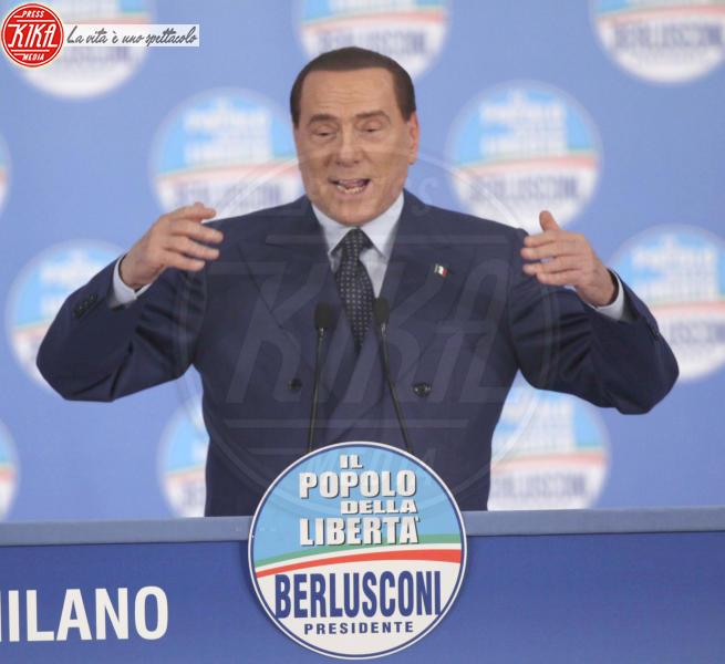 Silvio Berlusconi - Milano - 18-02-2013 - Silvio Berlusconi in ospedale per battito cardiaco irregolare