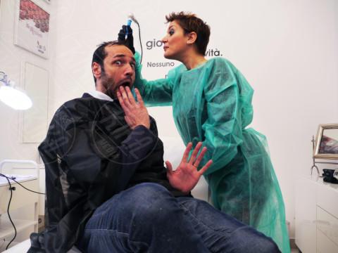 Claudia Boldi, Rocco Pietrantonio - 21-01-2014 - Tricopigmentazione: il trucco dei vip giovanissimi