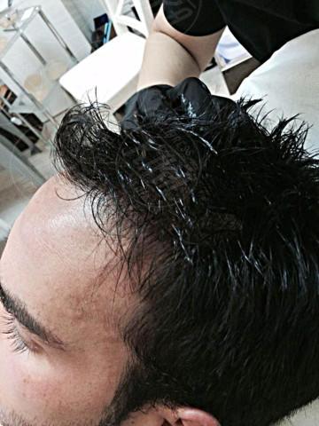 Luca Marin - 21-01-2014 - Tricopigmentazione: il trucco dei vip giovanissimi