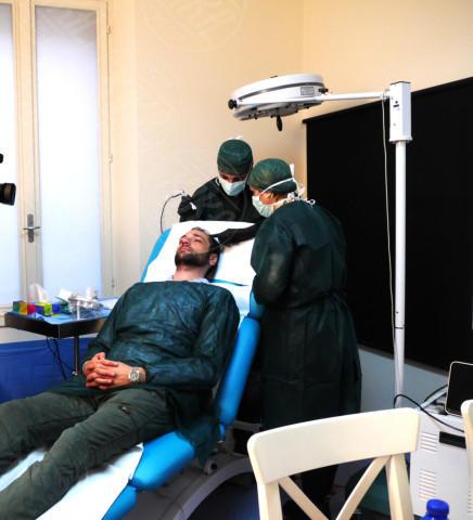 Toni Bel Fatto, Claudia Boldi, Rocco Pietrantonio - 21-01-2014 - Tricopigmentazione: il trucco dei vip giovanissimi