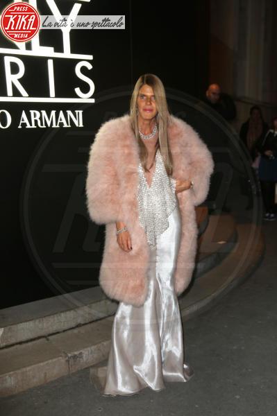 Anna Dello Russo - Parigi - 21-01-2014 - Inverno grigio? Rendilo romantico vestendoti di rosa!
