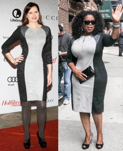 Oprah Winfrey, Geena Davis - 22-01-2014 - Geena Davis e Oprah Winfrey: chi lo indossa meglio?