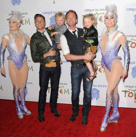 David Burtka, Neil Patrick Harris - Santa Monica - 21-01-2014 - Clooney-Amal e la carica delle star con gemelli in casa