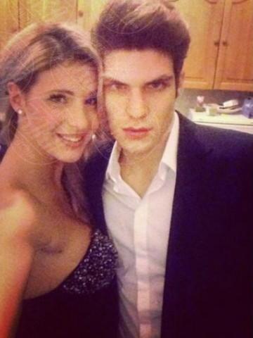 Elia Fongaro, Giulia Calcaterra - Los Angeles - 22-01-2014 - Dillo con un tweet: la Canalis svela i segreti sul sesso