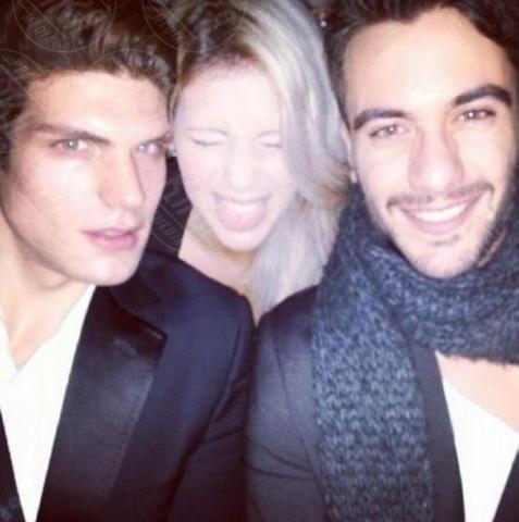 Pierpaolo Petrelli, Elia Fongaro, Giulia Calcaterra - Los Angeles - 22-01-2014 - Dillo con un tweet: la Canalis svela i segreti sul sesso