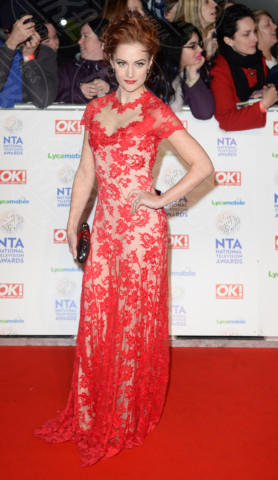 Ospite - Londra - 22-01-2014 - Vade retro Abito! Jennifer Metcalfe osé al National TV Awards