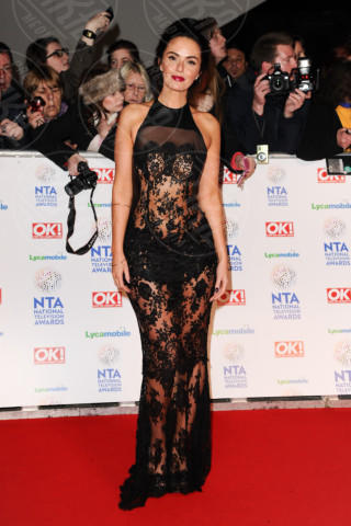 Jennifer Metcalfe - Londra - 22-01-2014 - Vade retro Abito! Jennifer Metcalfe osé al National TV Awards