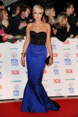 Helen George - Londra - 22-01-2014 - Vade retro Abito! Jennifer Metcalfe osé al National TV Awards