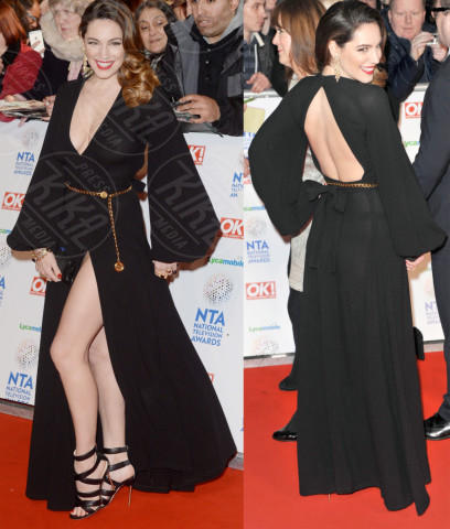Kelly Brook - Londra - 23-01-2014 - Vade retro Abito! Jennifer Metcalfe osé al National TV Awards