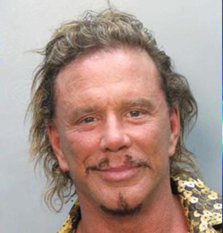 Mickey Rourke - florida - 08-11-2007 - Non si è una vera star se non si finisce in galera