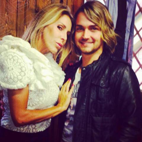 Valerio Scanu, Guendalina Canessa - 24-01-2014 - Drag In Talent: arriva su Italia 1 il primo reality Drag