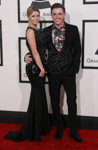 Katie Peterson, Jesse McCartney - Los Angeles - 26-01-2014 - Grammy Awards 2014: un red carpet all'insegna dell'amore