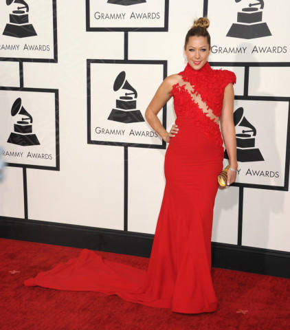 Colbie Caillat - Los Angeles - 26-01-2014 - Vade retro abito! Le scelte ai Grammy Awards 2014