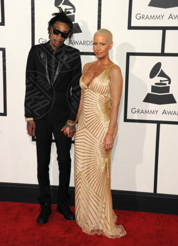 Wiz Khalifa, Amber Rose - Los Angeles - 26-01-2014 - Grammy Awards 2014: un red carpet all'insegna dell'amore
