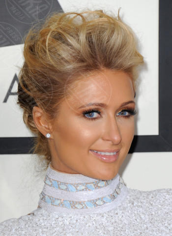 Paris Hilton - Los Angeles - 26-01-2014 - Grammy Awards 2014: le acconciature delle dive
